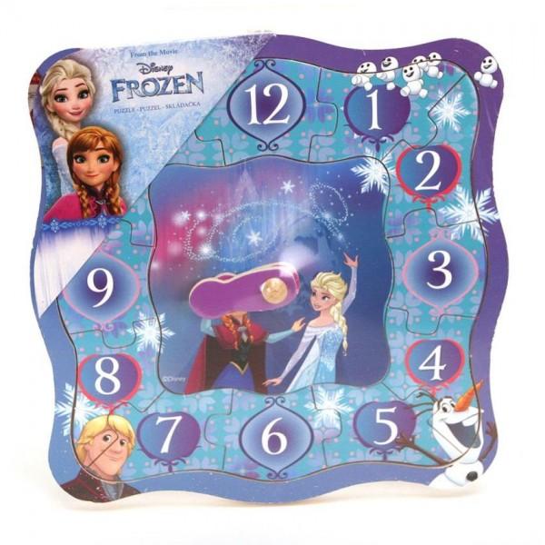Puzzel Klok Frozen