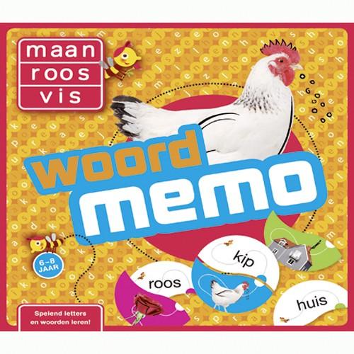 Spel Maan Roos Vis Woordmemo