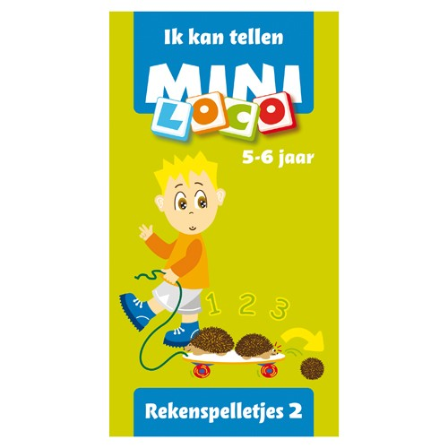 Mini Loco Ik kan tellen Rekenspelletjes 2 Mini loco