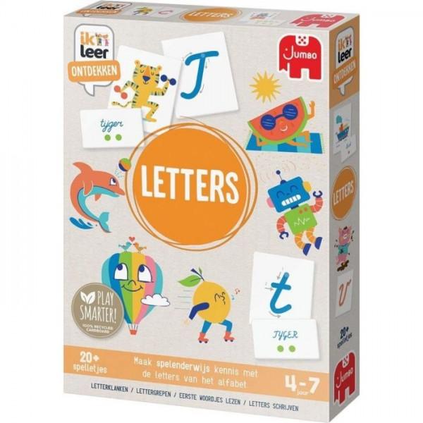 Jumbo Ik Leer Ontdekken Letters (4-7 Jaar)