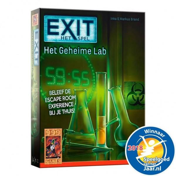 Spel Exit – Het Geheime Lab