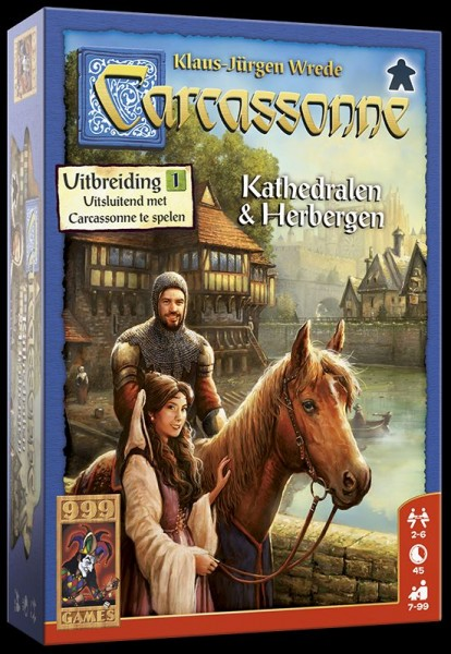 Spel Carcasonne Kathedralen & Herbergen