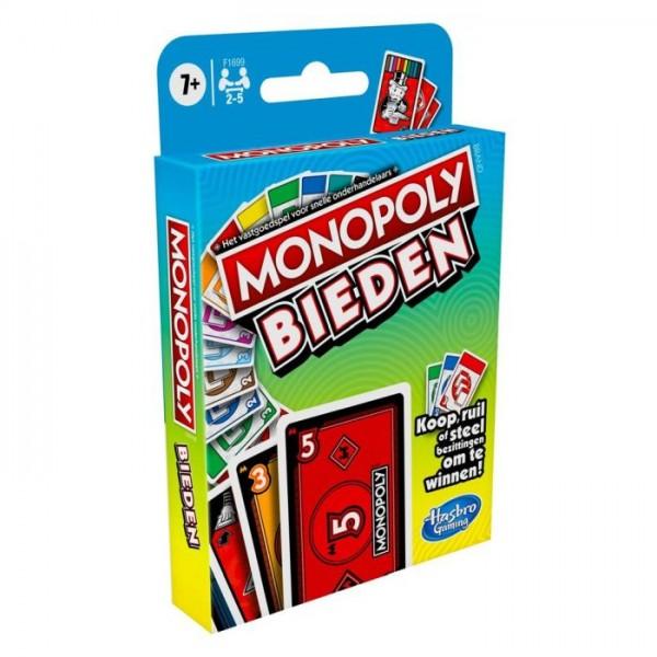 Hasbro Spel Monopoly Bieden