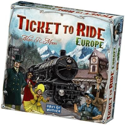 Spel Ticket to ride