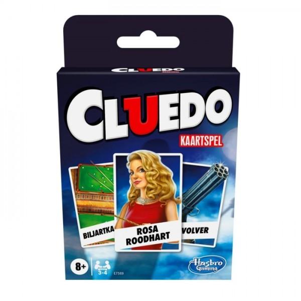 Spel Hasbro Cluedo kaartspel