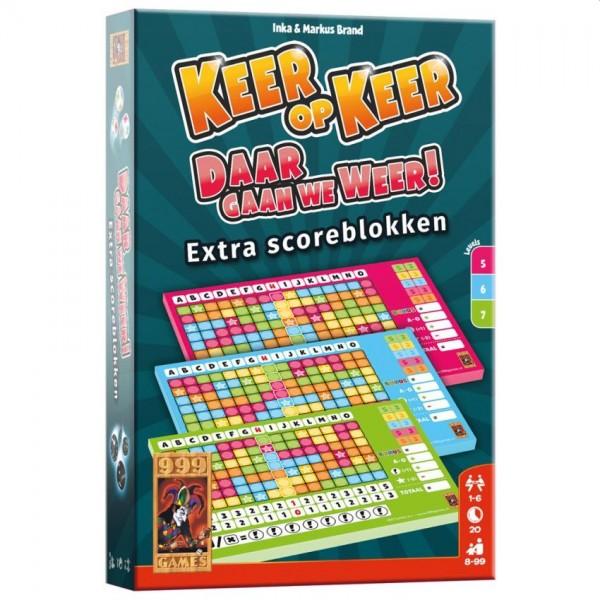 Spel Keer op Keer Scoreblok 3 Stuks Level 5, 6 en 7