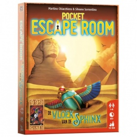 999-games Spel Pocket Escape Room De Vloek van de Sfinx