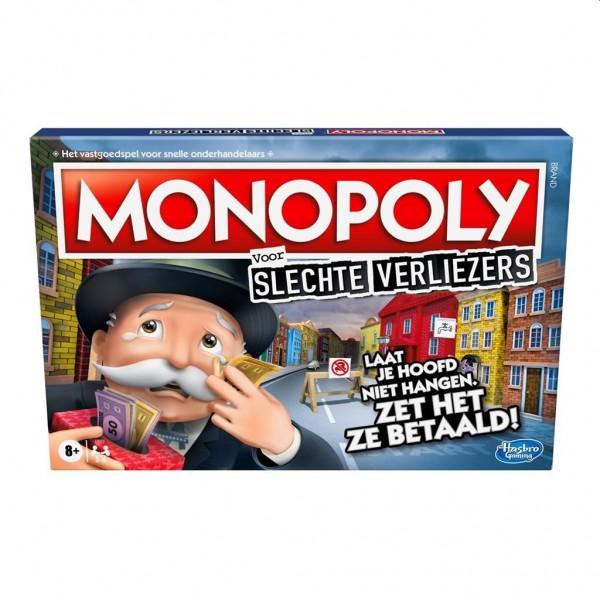 Spel Monopoly Slechte Verliezers