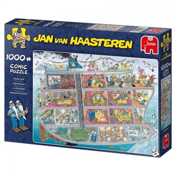 Jumbo Puzzel Jan van Haasteren Cruiseschip (1000)