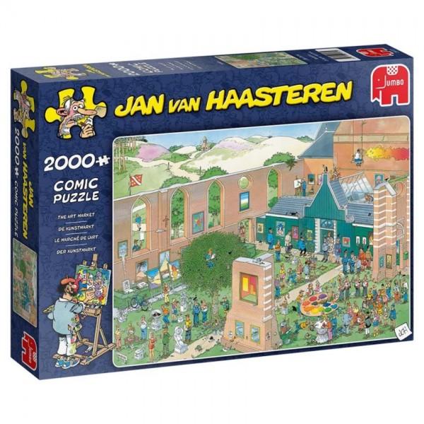 JUMBO Puzzel Jan van Haasteren De Kunstmarkt (2000)