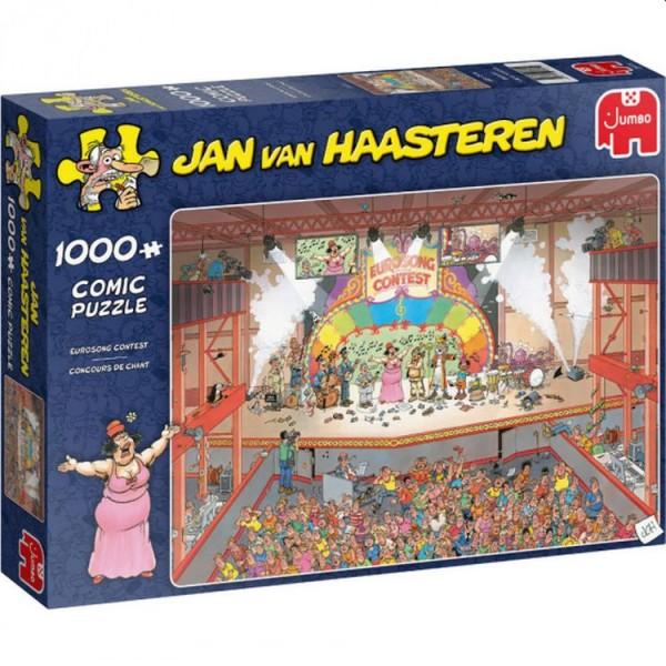 Jumbo Puzzel Jan van Haasteren Eurosong Contest (1000)