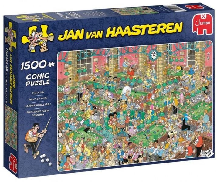 Jumbo Puzzel Jan van Haasteren Krijt op Tijd (1500)