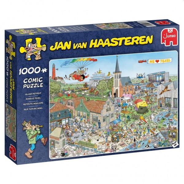 Jumbo Puzzel Jan van Haasteren Rondje Texel (1000)