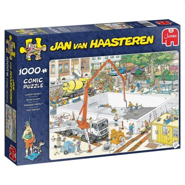 Jumbo Puzzel Jan van Haasteren Bijna Klaar (1000)