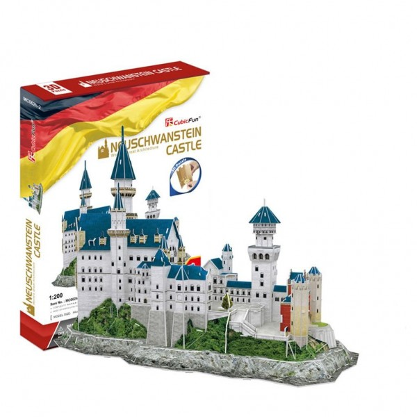 3D Puzzel Neuschwanstein Kasteel 98-delig