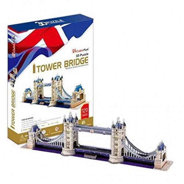 3D Puzzel Tower Bridge 118 delig