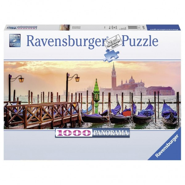 Ravensburger Puzzel Gondolas In Venetië (1000)