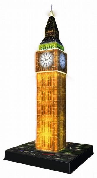 Ravensburger 3D Puzzel Big Ben bij nacht (216)