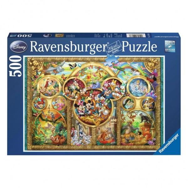 Ravensburger Puzzel Most Famous Disney Characters (500)