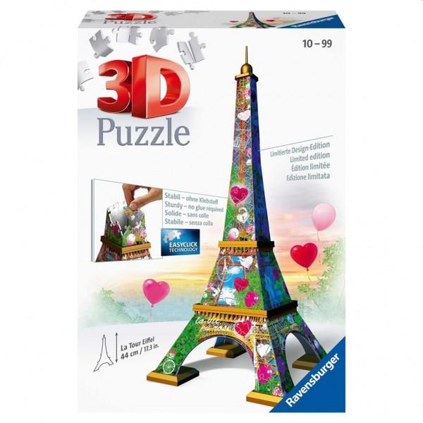 Ravensburger Puzzel 3D Eiffeltoren Love Edition