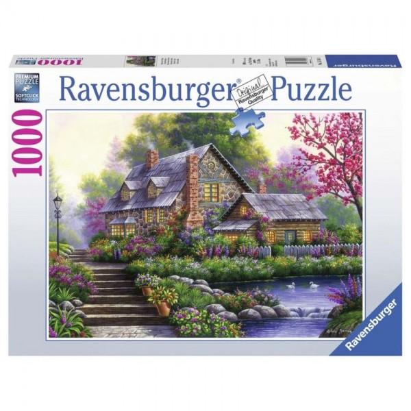 Ravensburger Puzzel Romantisch Huis (1000)