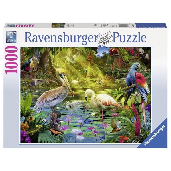 Ravensburger Puzzel Vogels In Het Paradijs (1000)