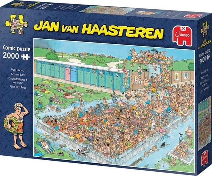 Jumbo Puzzel Jan Van Haasteren Bomvol Bad (2000)