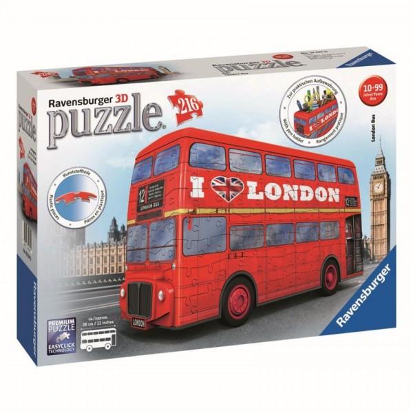 Ravensburger 3D-Puzzel Londen Bus Rood (216)