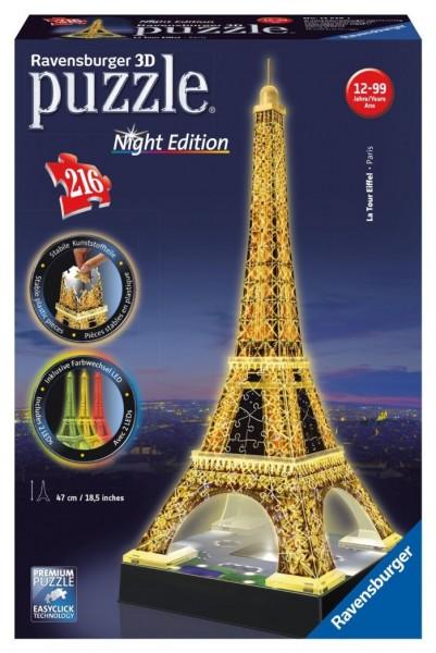Ravensburger Puzzel 3D Eiffeltoren met licht (216)