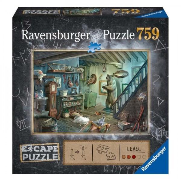 Ravensburger Puzzel Escape The Room 8 (759 Stukjes)