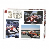 Puzzel 3 In 1 1000 Stukjes Race Collection