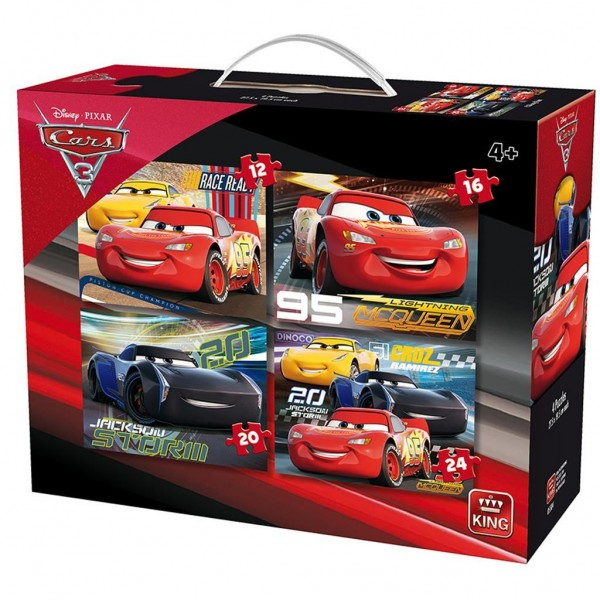 King Puzzel Cars 3 (12+16+20+24)