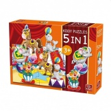 Puzzel 5in1 Circus