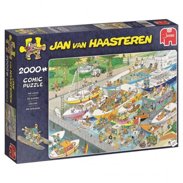 Jumbo Puzzel Jan Van Haasteren Sluizen (2000)