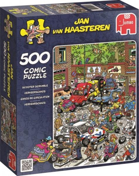 Jumbo Jan van Haasteren Verkeerschaos legpuzzel 500 stukjes
