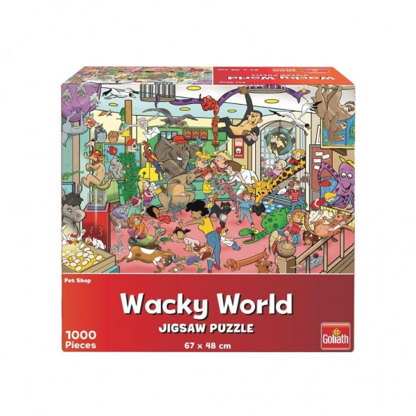 Puzzel Wacky World Petshop (1000)
