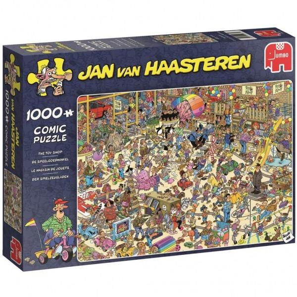 Jumbo Puzzel Jan Van Haasteren De Speelgoedwinkel (1000)