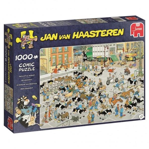 Jumbo Puzzel Jan Van Haasteren De Veemarkt (1000)