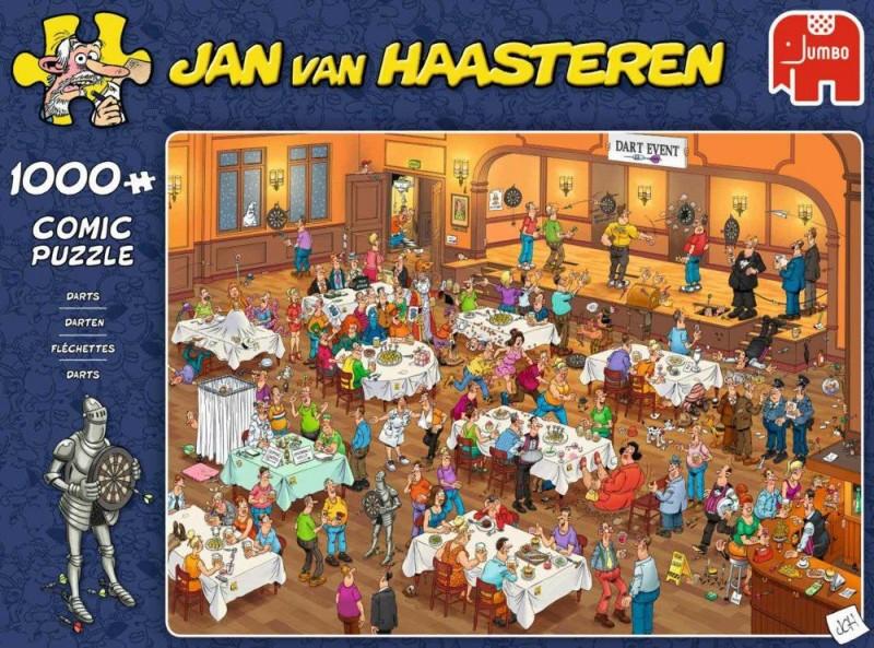 Jumbo Puzzel Jan Van Haasteren Darts (1000)