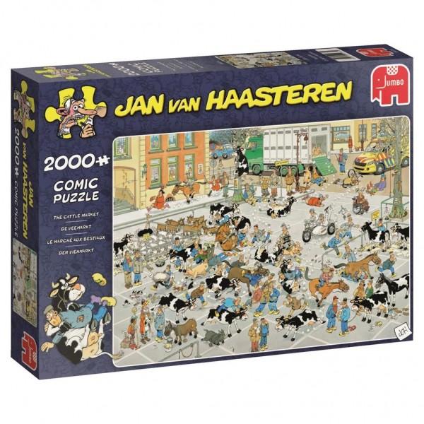 Jumbo Puzzel Jan Van Haasteren De Veemarkt (2000)