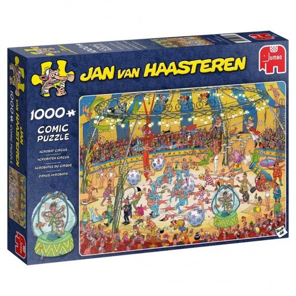 Jumbo puzzel Jan Van Haasteren Acrobaten Circus (1000)