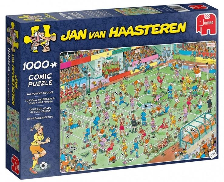Jumbo Puzzel Jan van Haasteren Vrouwenvoetbal (1000)