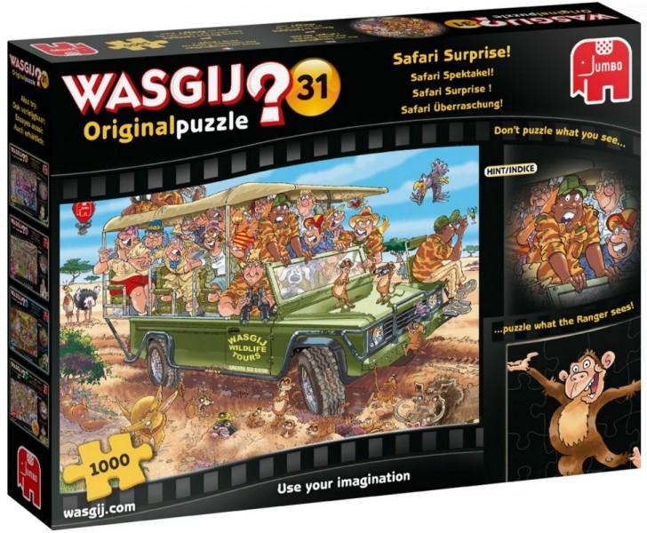 Jumbo Puzzel Wasgij Original 31 Safari Spektakel (1000)