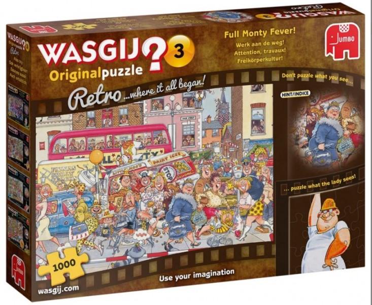Jumbo Puzzel Wasgij Retro Werk Aan De Weg! (1000)