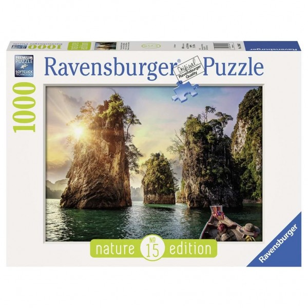 Ravensburger Puzzel Three Rocks Cheow Thailand (1000)