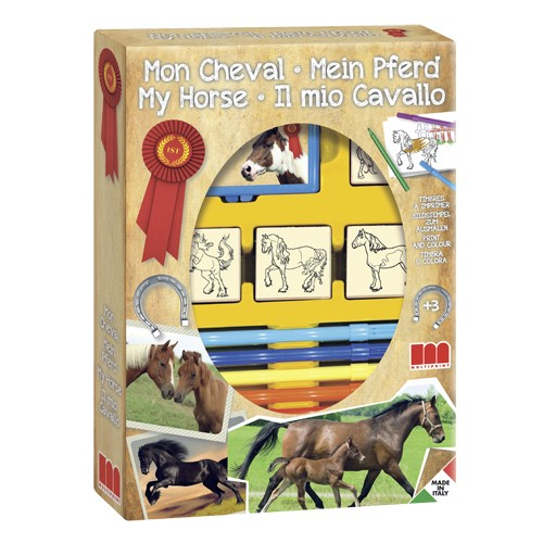 Stempelset Paarden