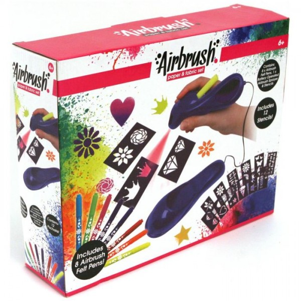 crayola airbrush set crayola vanaf. Black Bedroom Furniture Sets. Home Design Ideas