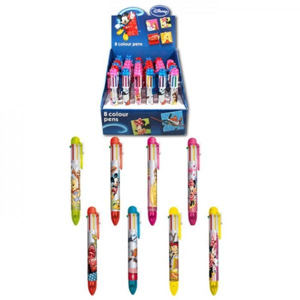 Disney Pen Met 8 Kleuren
