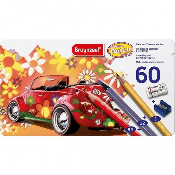Kleurenblik Bruynzeel Super Sixties Kever 60 Stuks