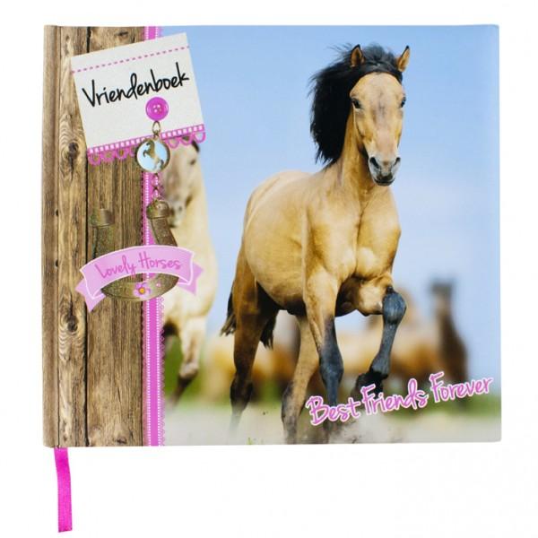 Vriendenboek Paard met stickers